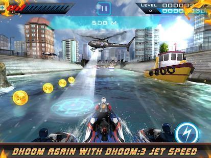 Dhoom:3 Jet Speed Screenshot