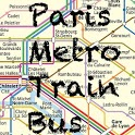 Paris Metro Bus Train icon