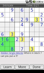 Enjoy Sudoku- screenshot thumbnail