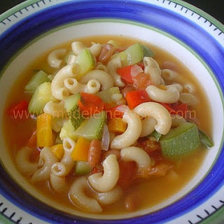 Vegetable, Bean, and Pasta Soup