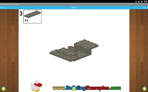 Brick space instructions- screenshot thumbnail