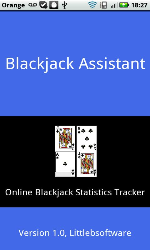 Blackjack Assistant - screenshot