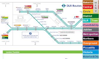 Screenshot of London Tube Map