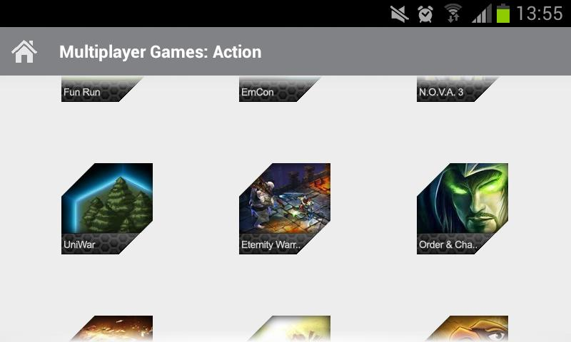 Multiplayer Games: Action - screenshot