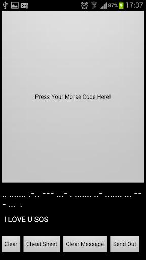 莫爾斯電碼 Morse Code