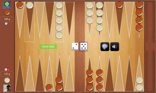 Backgammon Online Tournament- screenshot thumbnail
