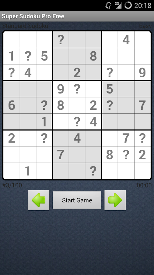 Super Sudoku Pro Free - screenshot