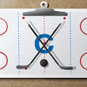Ice hockey coach's clipboard 2