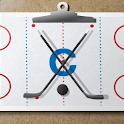 Ice hockey coach's clipboard 2