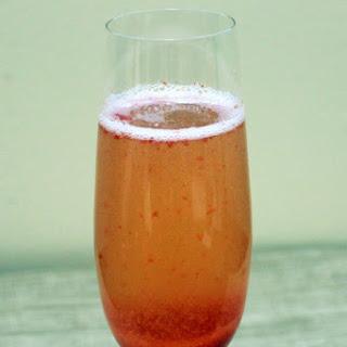 Strawberry Champagne Bellini Recipe