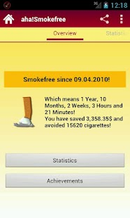 aha!Smokefree- screenshot thumbnail