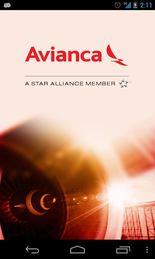 Avianca - screenshot