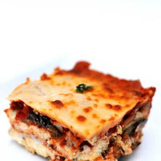 Gluten Free Eggplant Lasagna Style