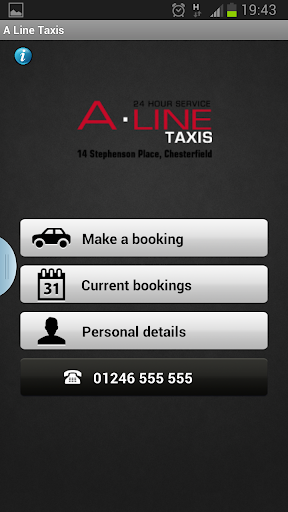 SafeLine Taxis 1.2 - This Taxi Booking App allows you to book a Taxi or Private Hire Vehicle from Sa