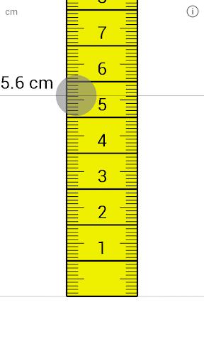 大标尺厘米