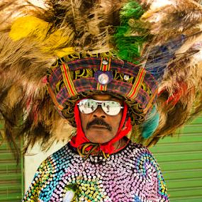 Caboclo de Lança by Claudio Maranhao - People Musicians & Entertainers ( #carnavaldepernambuco )