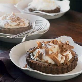 Chocolate-Banana Cream Tartlets