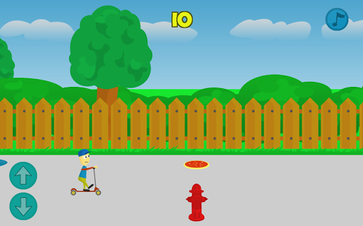 Kick Scooter Dummy Crash Game