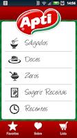 Screenshot of Receitas do Coração