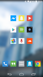 Square Icon Pack Trial - screenshot thumbnail