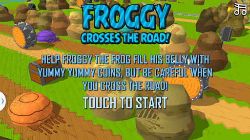 Frog Cross The Crossy Road