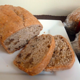 Orange Cinnamon Walnut Bread
