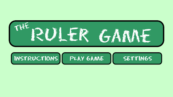 The Ruler Game- screenshot thumbnail