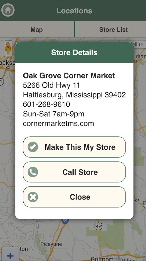 Corner Market- screenshot