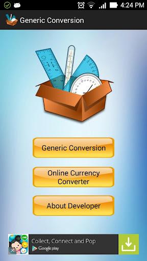 Generic Conversion