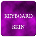 Pink Foggy Keyboard Skin logo