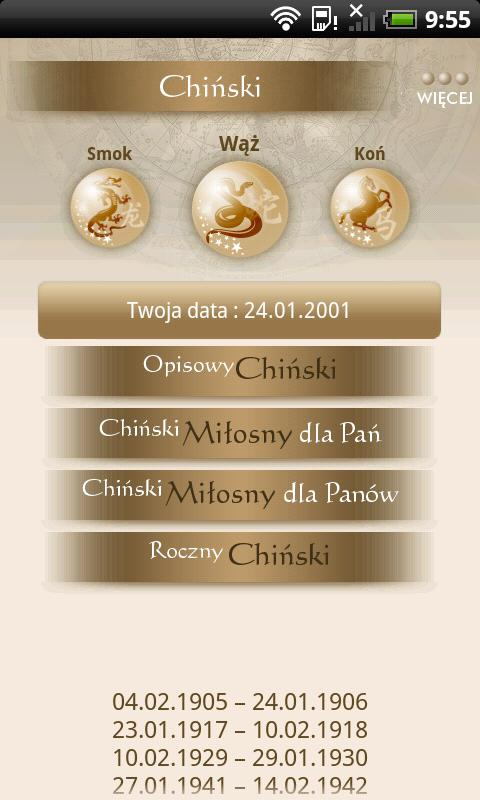 WP Horoskop- screenshot