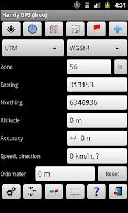 Handy GPS free