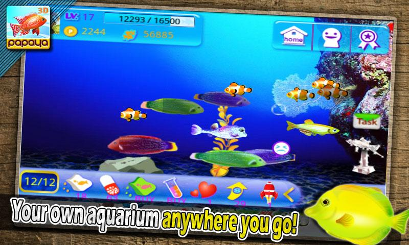 Fish tank games for android fish tank management game for Fishing game android