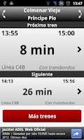 Screenshot of Next Train