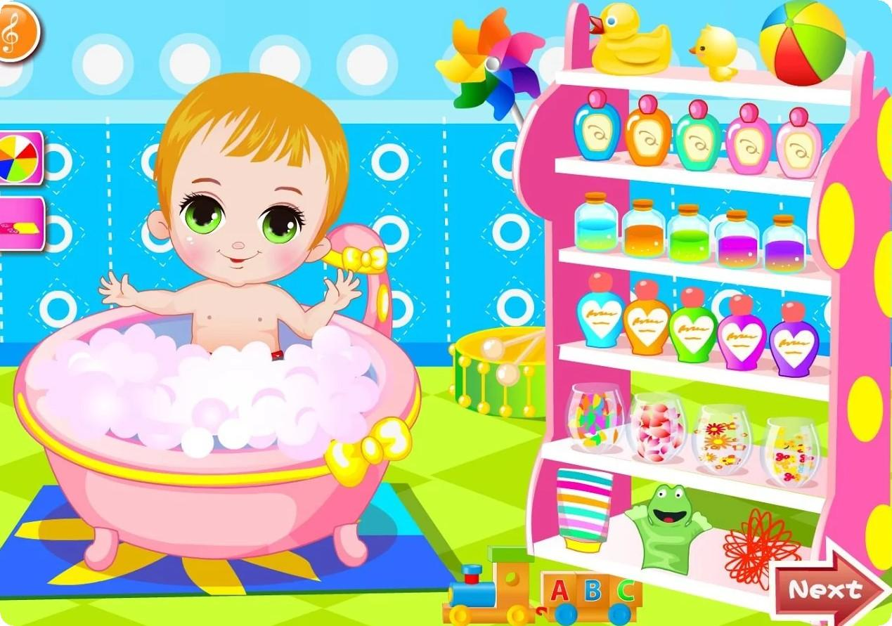 Happy Baby Bathing Games - Android Apps on Google Play