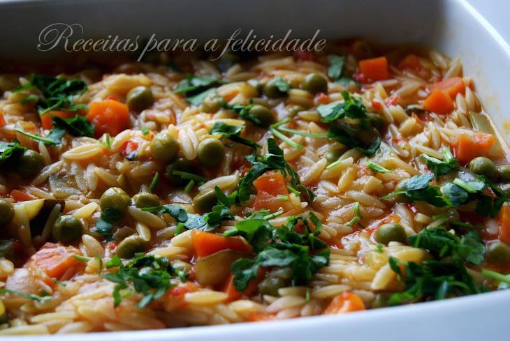Vegetarian, Leek, and Orzo Soup Recipe