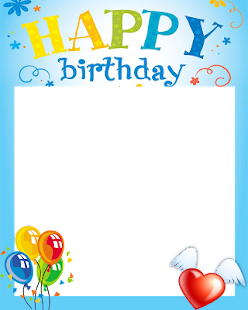 Free Happy Birthday Frame