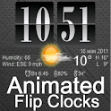 Live Wallpaper Flip Clock Tria logo