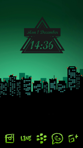 Zeon Green Icon Pack