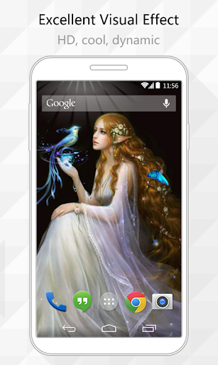 Fairy Beauty Live Wallpaper