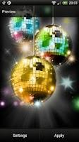 Screenshot of Disco Ball Live Wallpaper