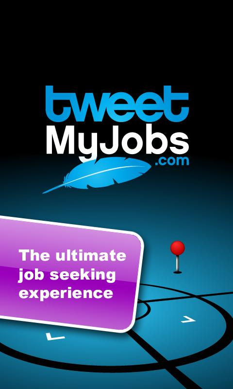 TweetMyJobs- screenshot