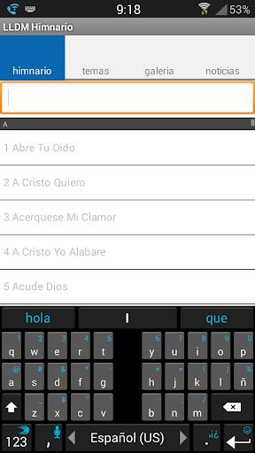 LLDM Himnario screenshot