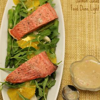 Asparagus, Quinoa and Salmon Salad