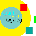 1 to 10 tagalog icon
