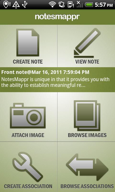 NotesMappr - Notepad Notes- screenshot