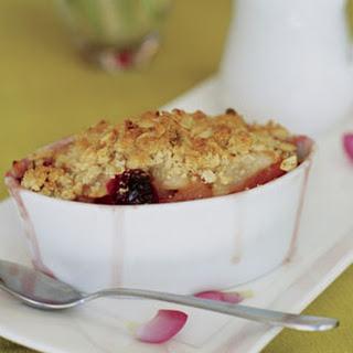 Pear Cranberry Crisps
