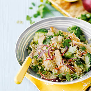 Chicken And Broccoli Couscous.