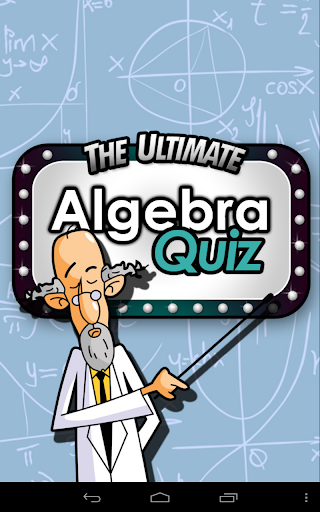 Ultimate Algebra Quiz