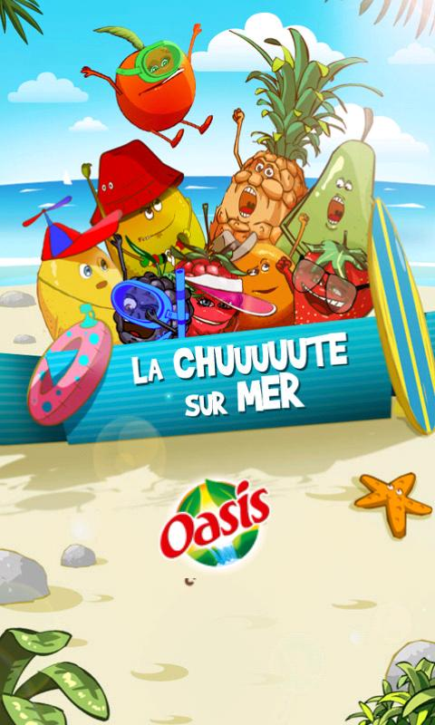 La chuuute sur mer by Oasis - screenshot